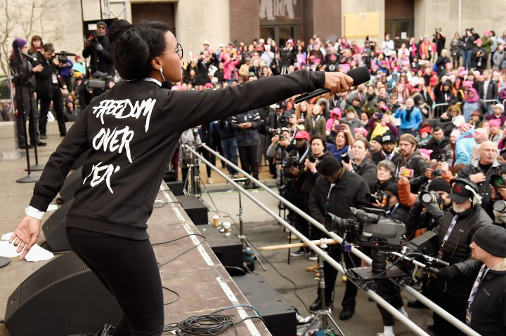 Women's March on Washington - Rally