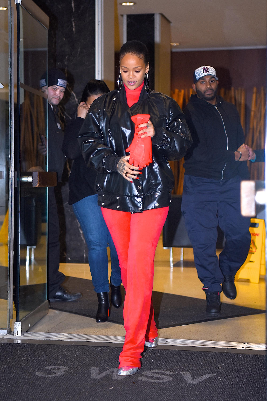Celebrity Sightings in New York City - January 22, 2016