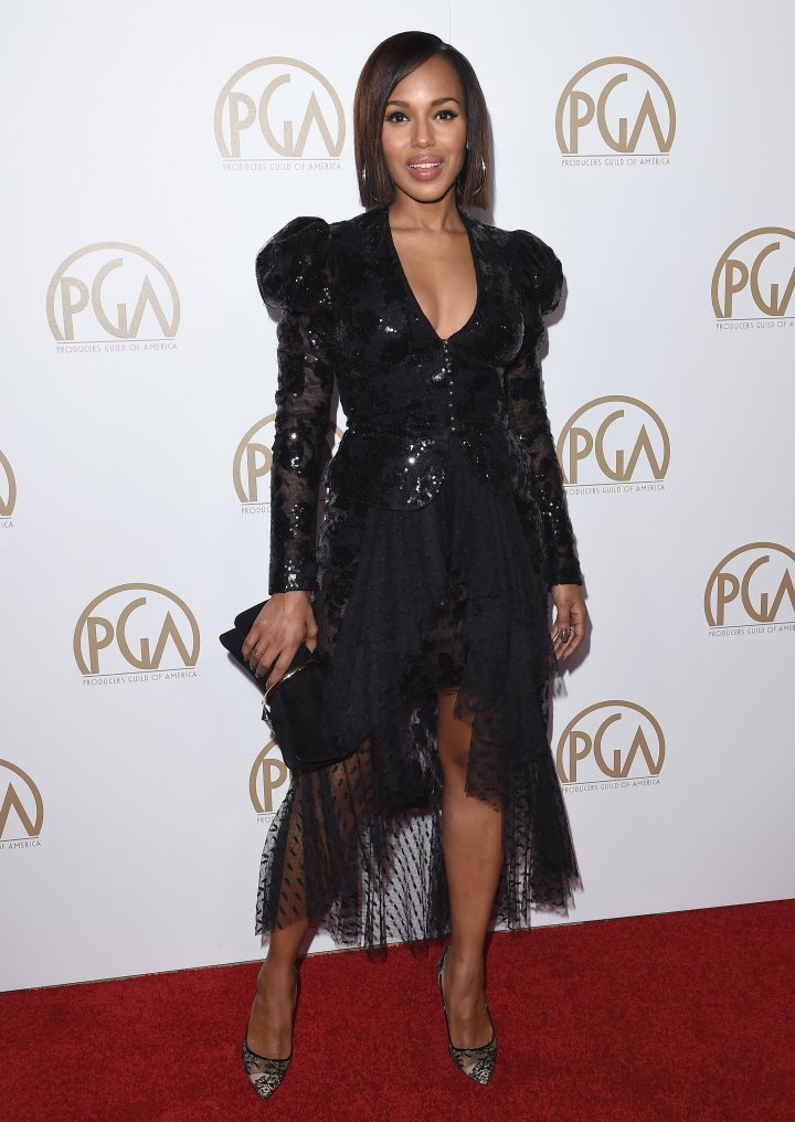 Kerry Washington attends the 28th Annual Producers Guild Awards