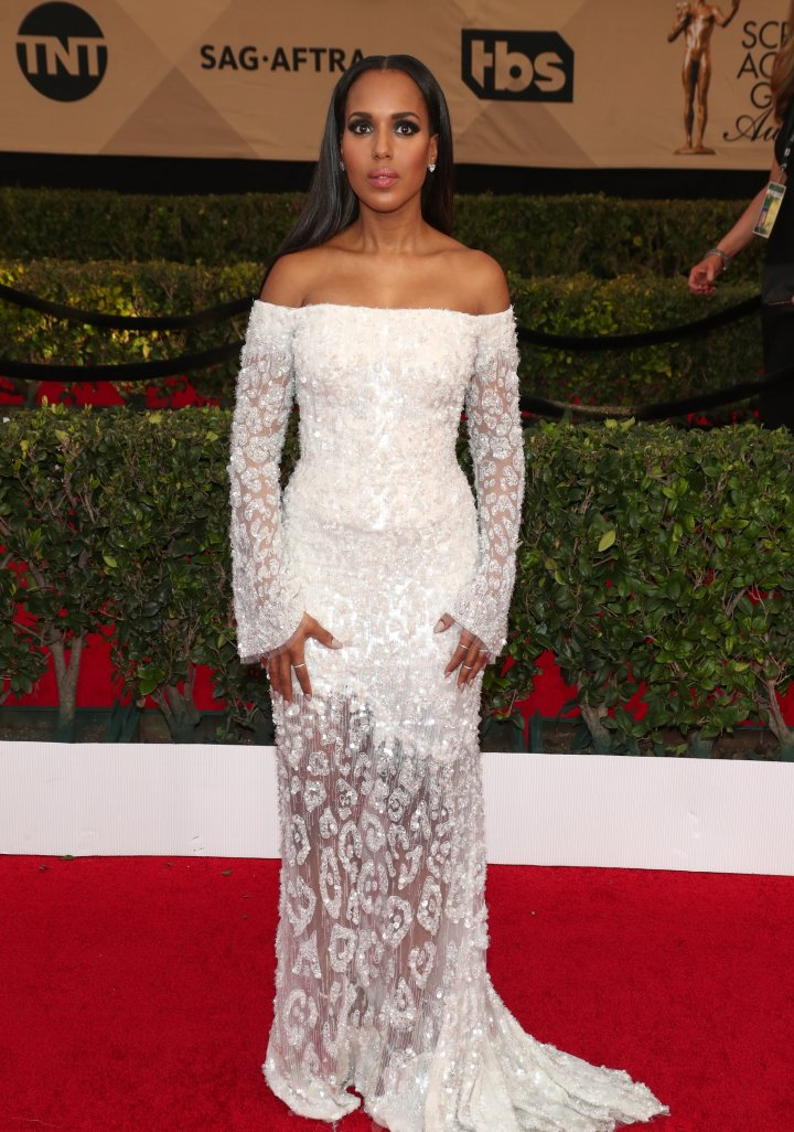 Kerry Washington attends the 23rd Annual Screen Actors Guild Awards