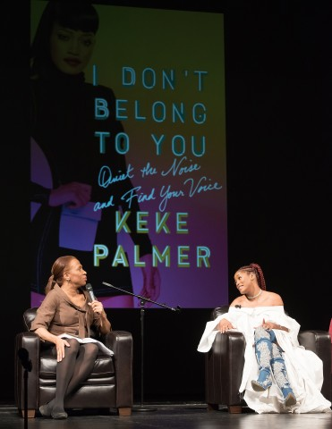 Keke Palmer Signs Copies Of 'I Don't Belong To You: Quiet The Noise And Find Your Voice'