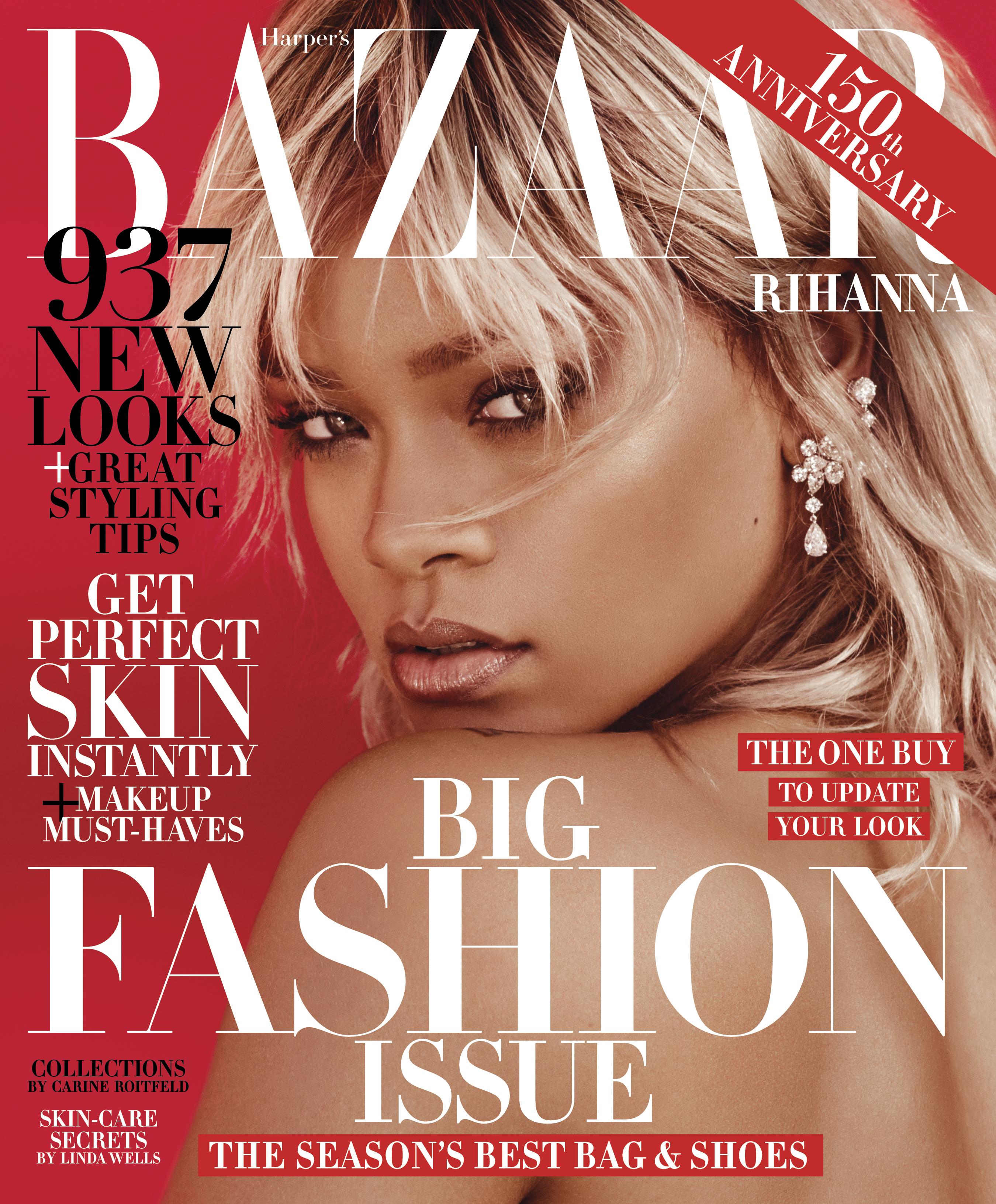 Rihanna Haarper's Bazaar March 2017