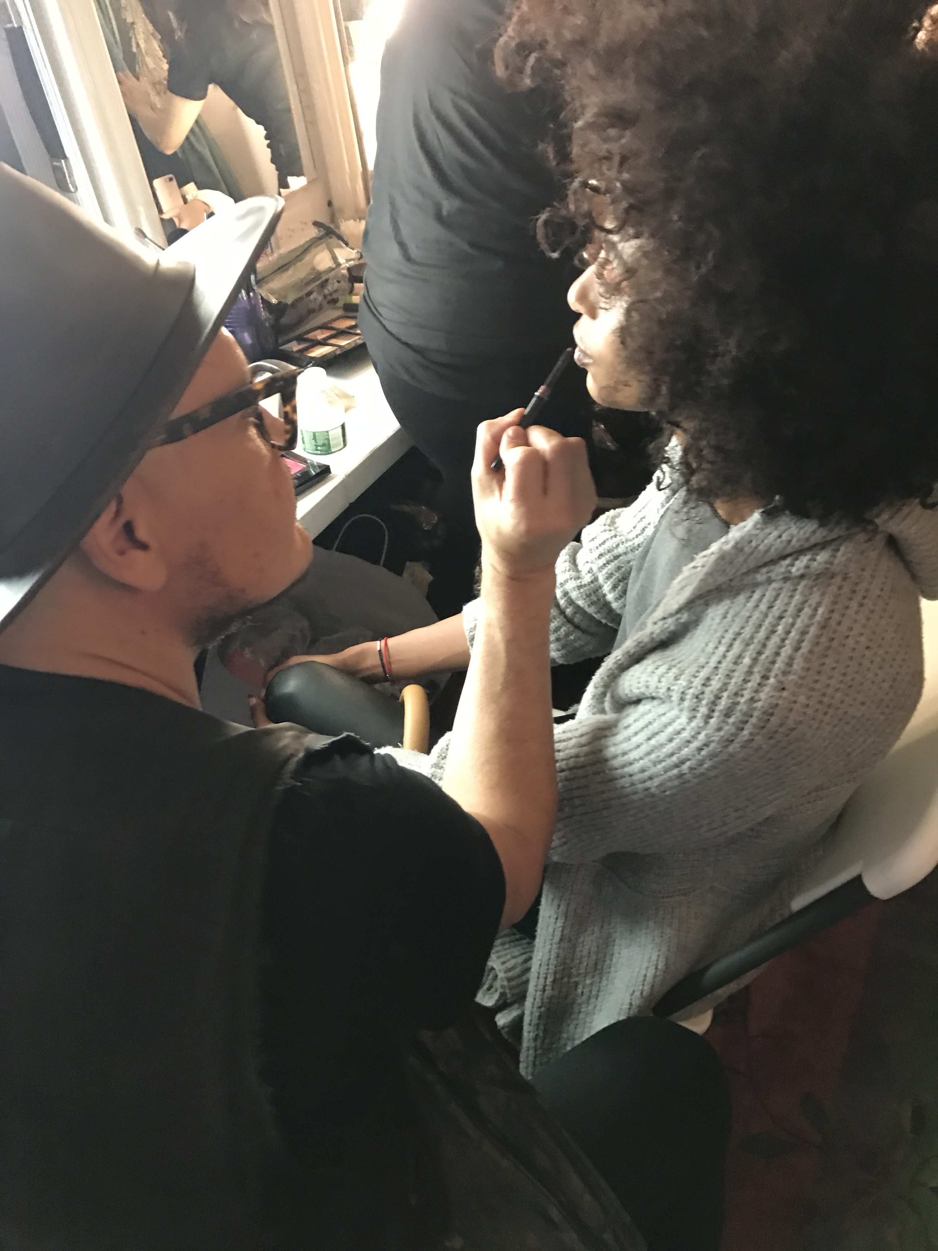 Backstage Tracy Reese
