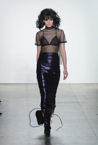Georgine - Runway - February 2017 - New York Fashion Week: The Shows