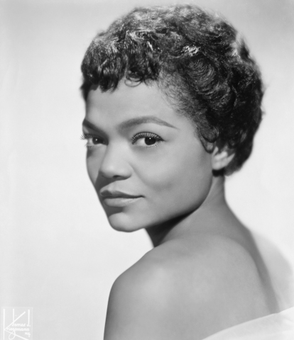 Singer and Actress Eartha Kitt