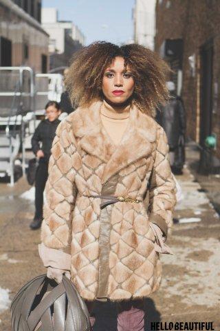 Street Style - #NYFWNoir 2017
