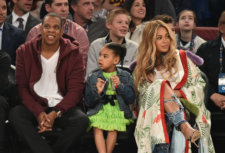 Beyonce, Jay Z & Blue Ivy's Family Night Out
