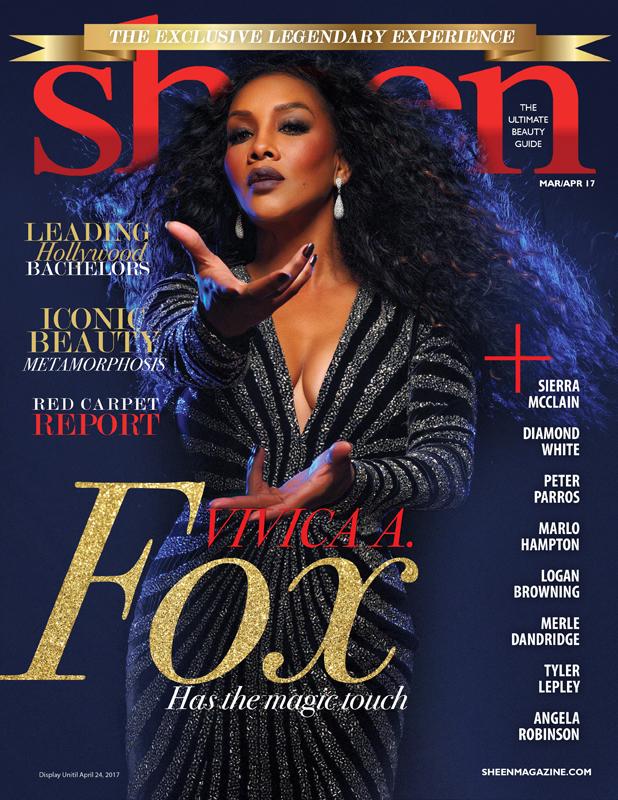 Vivica A. Fox Sheen Magazine Cover
