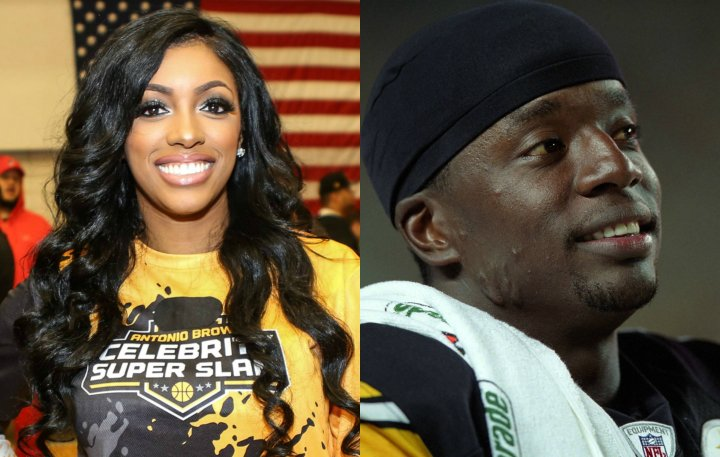 Porsha Williams and Kordell Stewart
