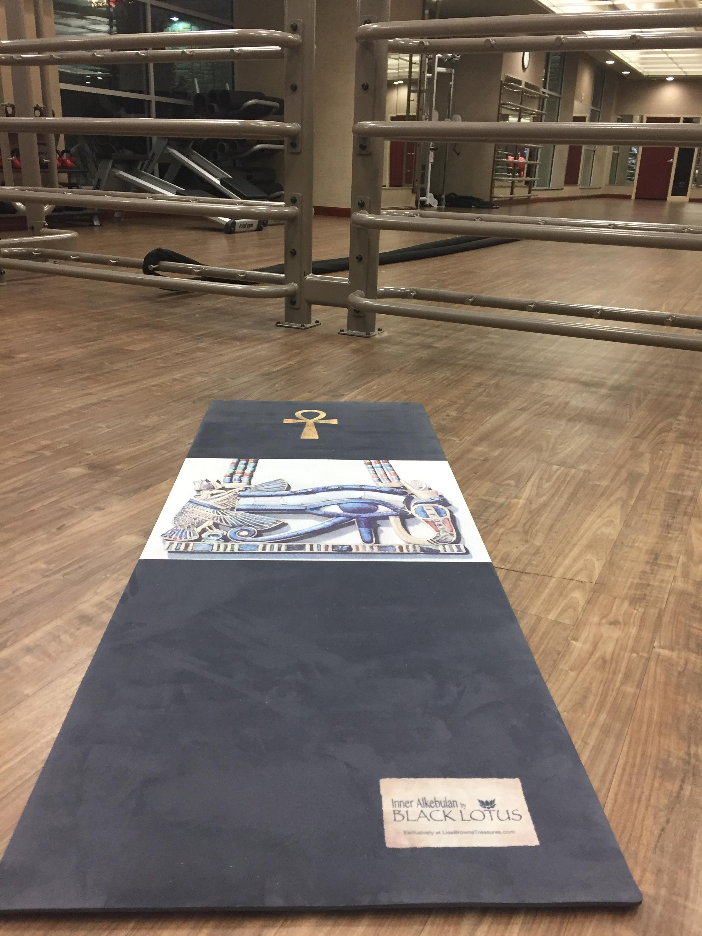 Lisa Brown's yoga mats