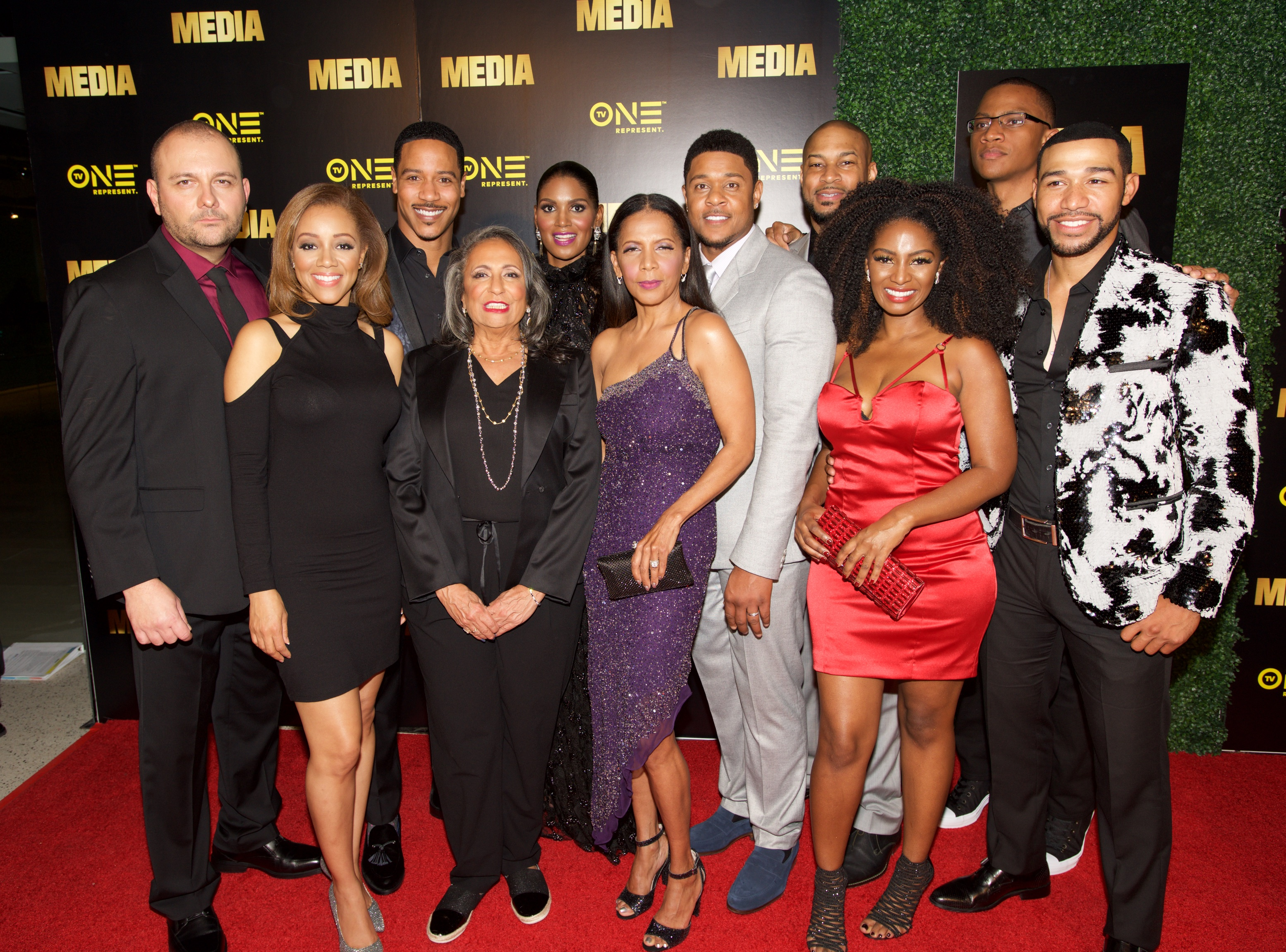 Premiere Of TV One's 'Media' - Arrivals