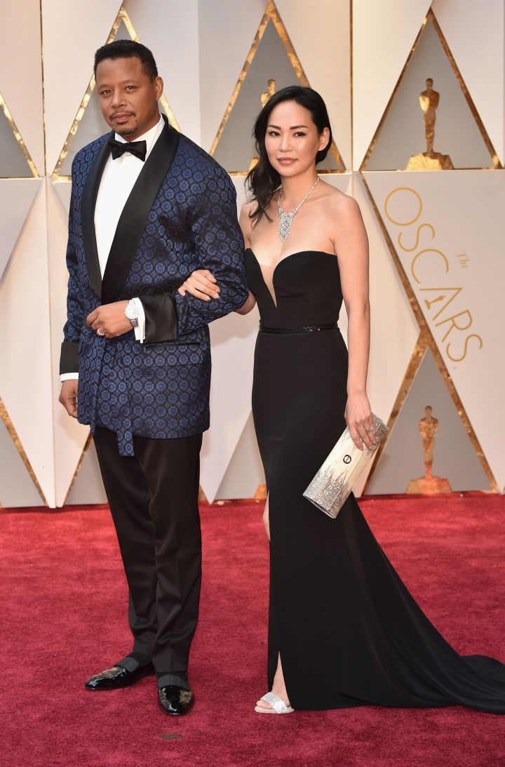 Terrence Howard and wife Mira Pak