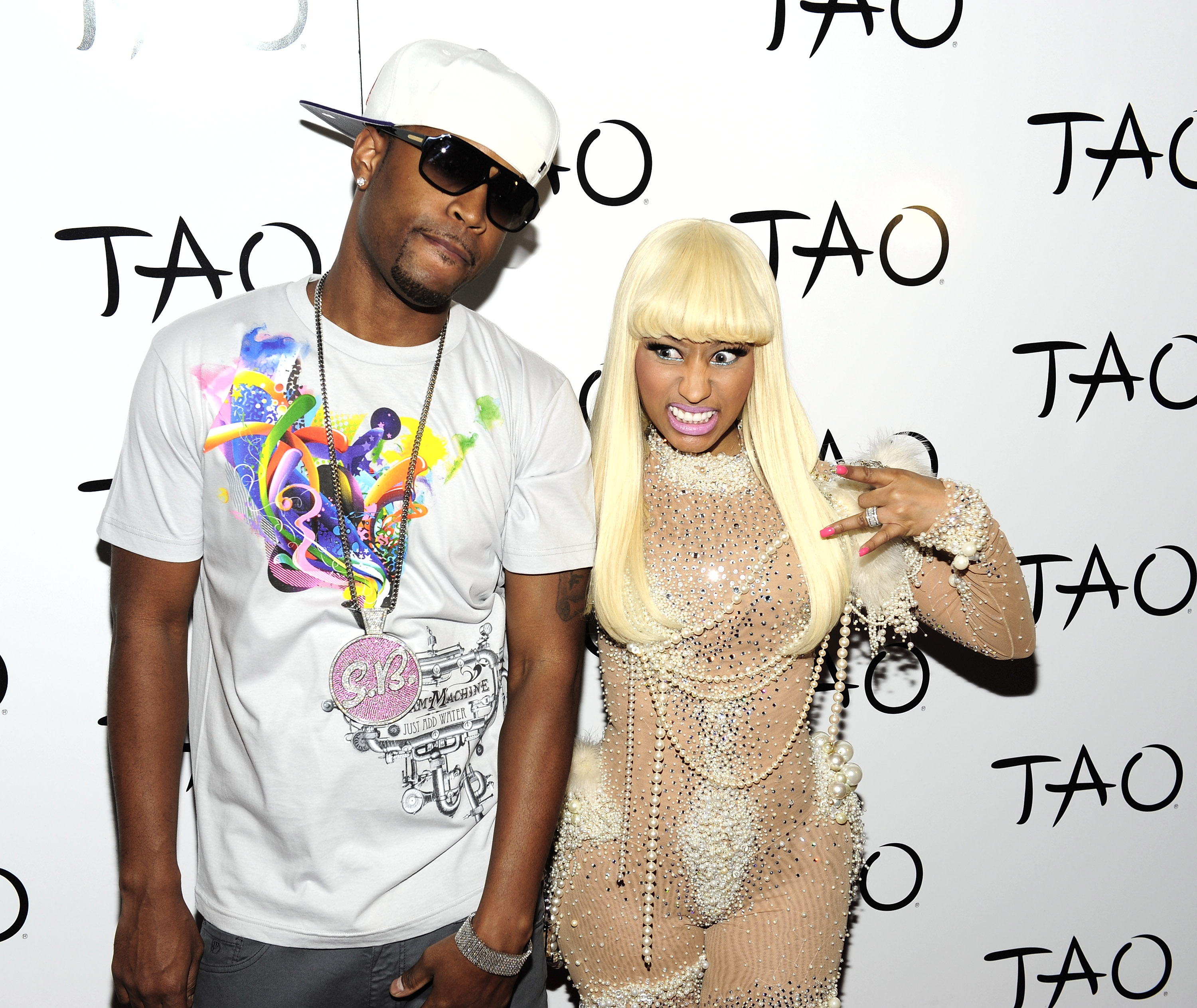 Nicki Minaj Celebrates Her Birthday At TAO Nightclub