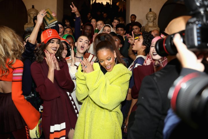 FENTY PUMA by Rihanna Fall / Winter 2017 Collection - Backstage