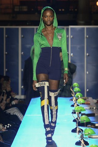 FENTY PUMA by Rihanna : Runway - Paris Fashion Week Womenswear Fall/Winter 2017/2018
