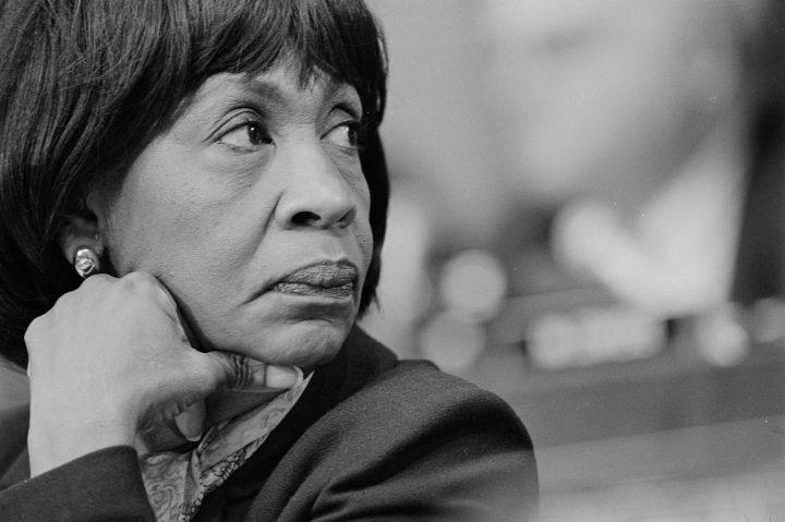 Rep. Maxine Waters...