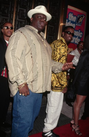 The Notorious B.I.G. and Sean 'Puffy' Combs