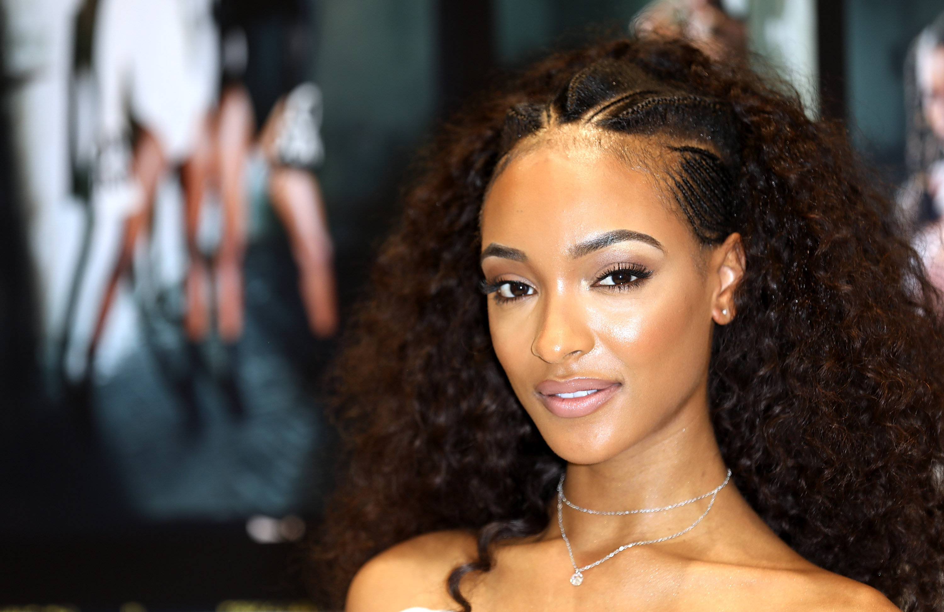 Jourdan Dunn Celebrates The Launch Of The Lon Dunn+ Missguided Collection At Missguided's Westfield Store