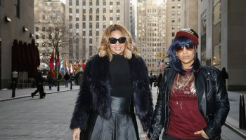 'The First Family Of Hip Hop' Sighting In New York City