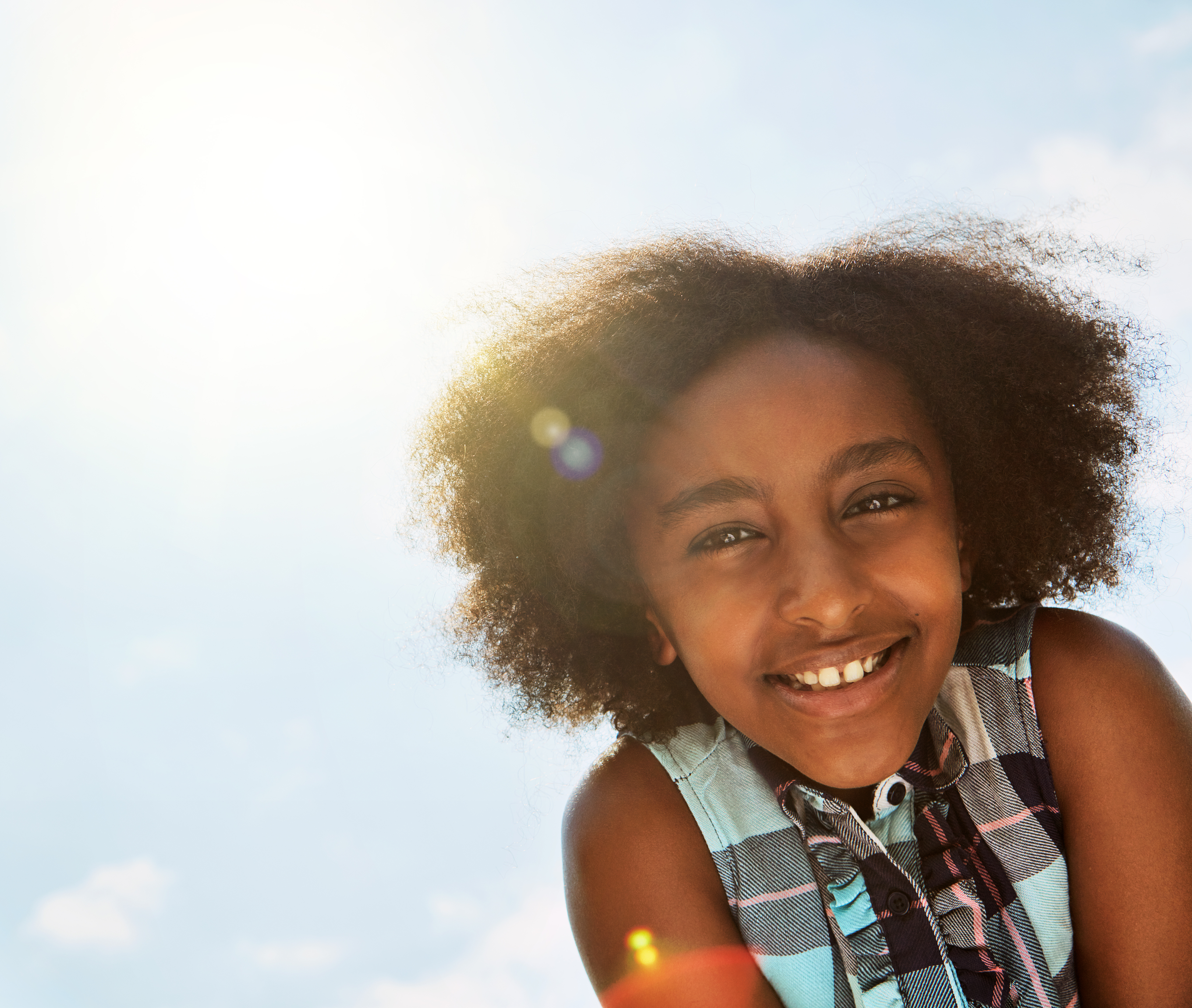 Sunny days make for sunny smiles