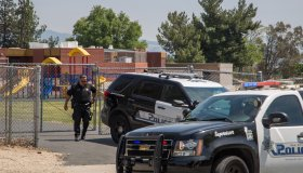 Murder Suicide Shooting At Elementary School In San Bernardino Kills Two And Injures Others