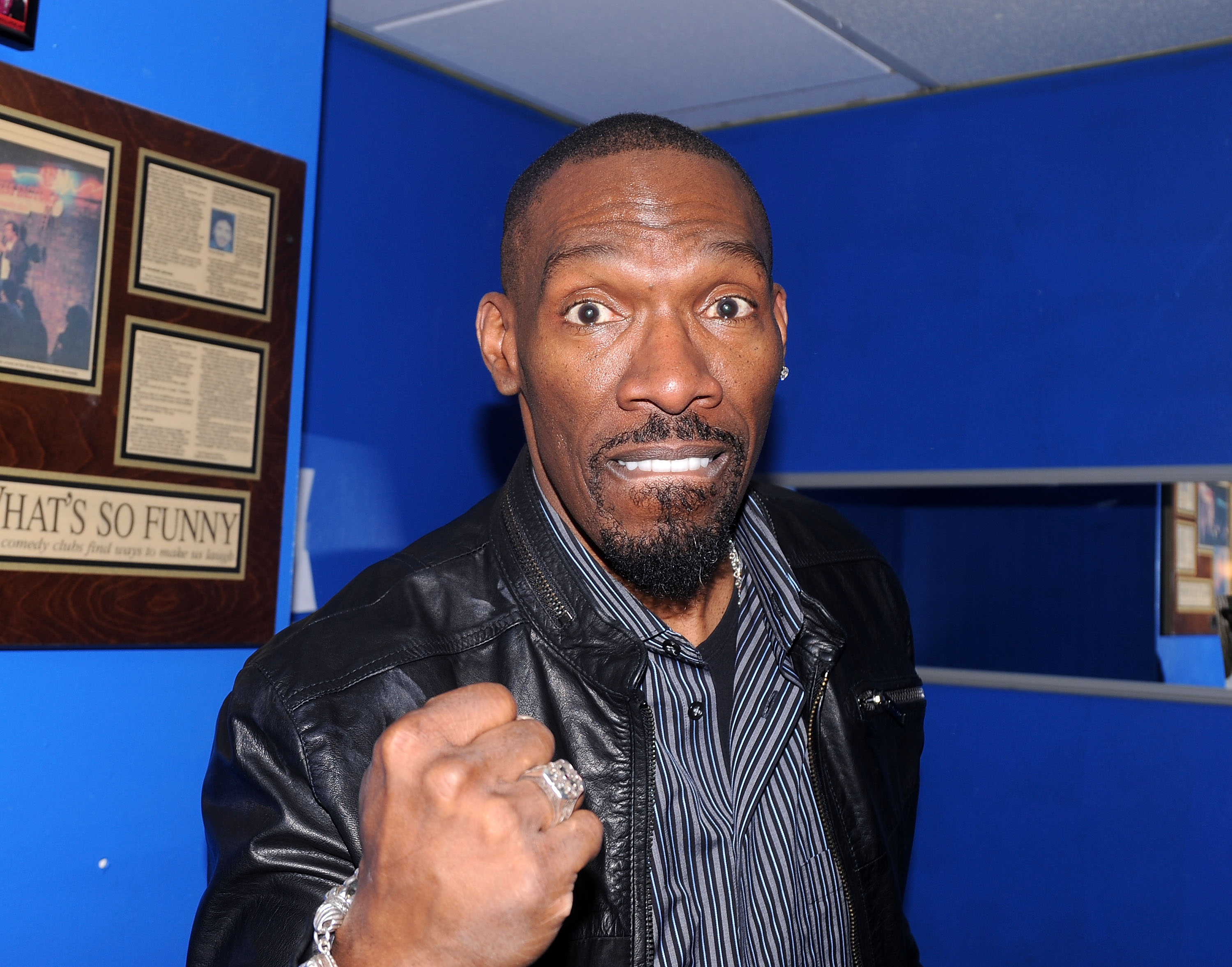 Comedian Charlie Murphy Performs At Stress Factory Comedy Club