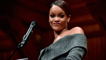 Harvard Foundation Honors Rihanna As Humanitarian Of The Year