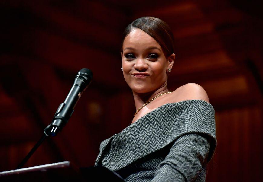 Harvard Foundation Honors Rihanna As Humanitarian Of The Year