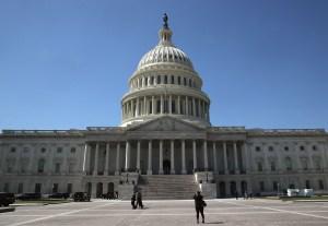 Blue Sky Over U.S. Capitol