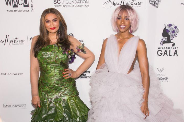 Tina Lawson & Kelly Rowland