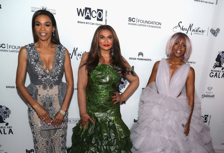 MIchelle, Tina Lawson, Kelly Rowland