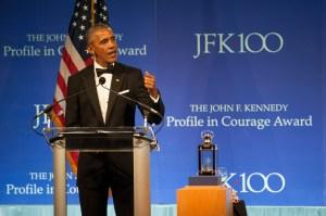 US-POLITICS-PEOPLE-JFK-AWARD-OBAMA