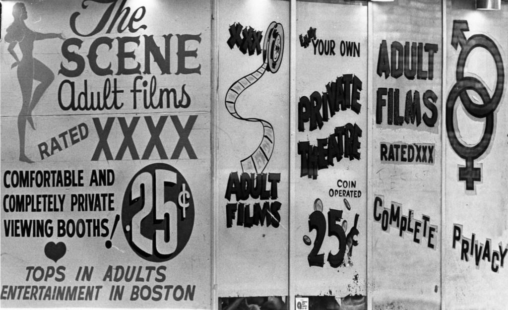 Boston's Combat Zone In 1976