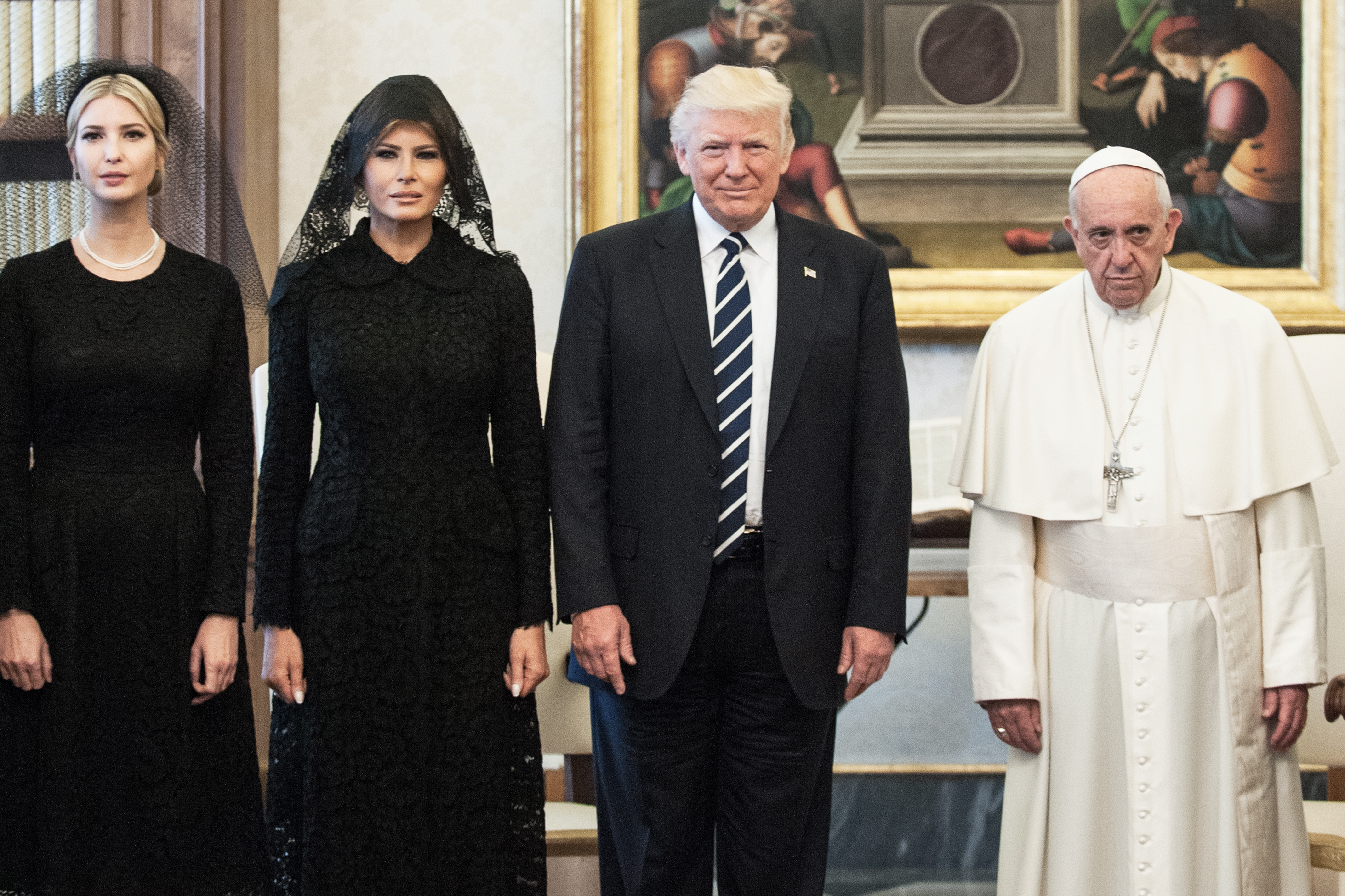 Pope Francis Meets USA President Donald Trump