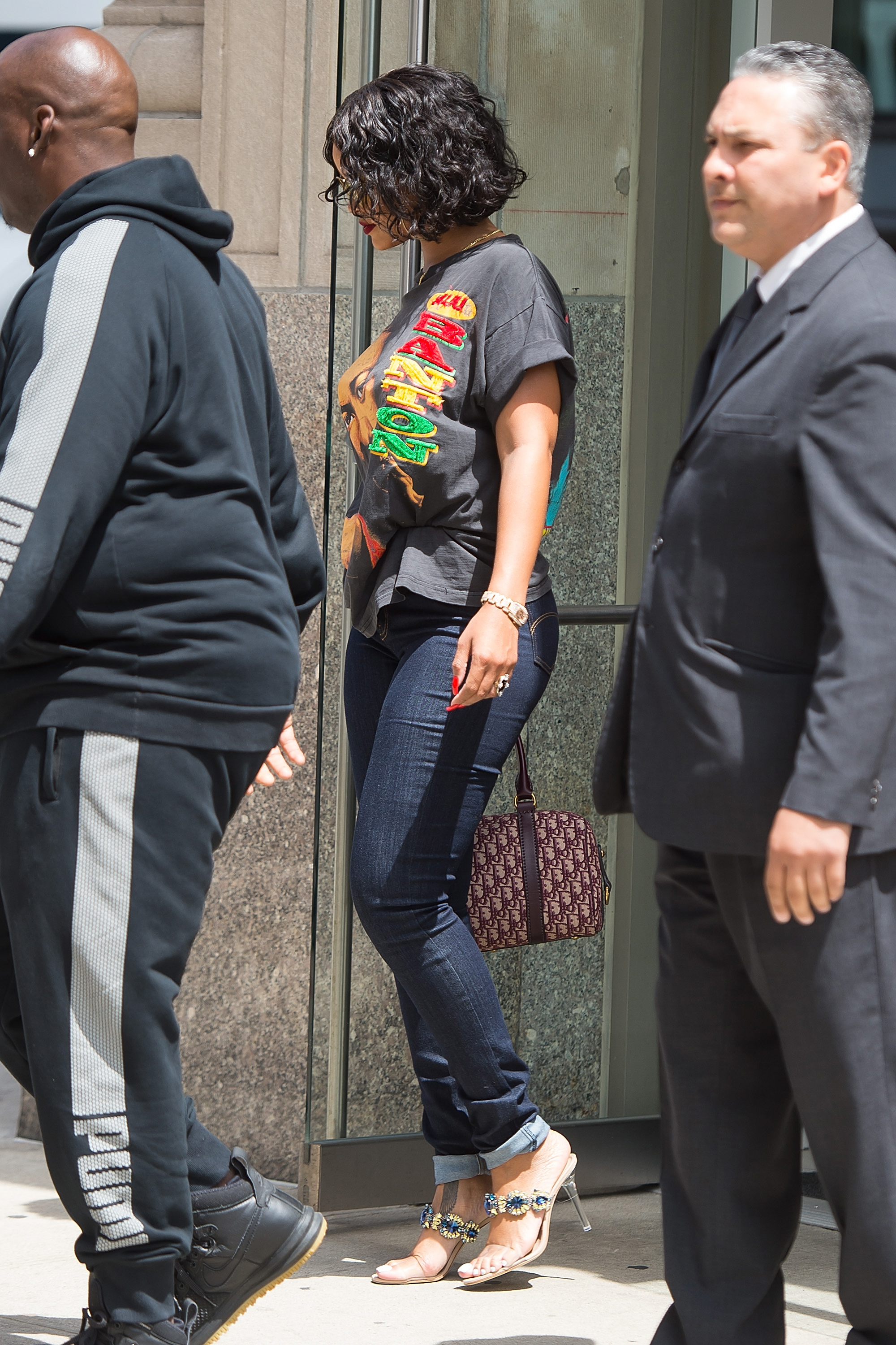 Celebrity Sightings in New York City - May 24, 2017