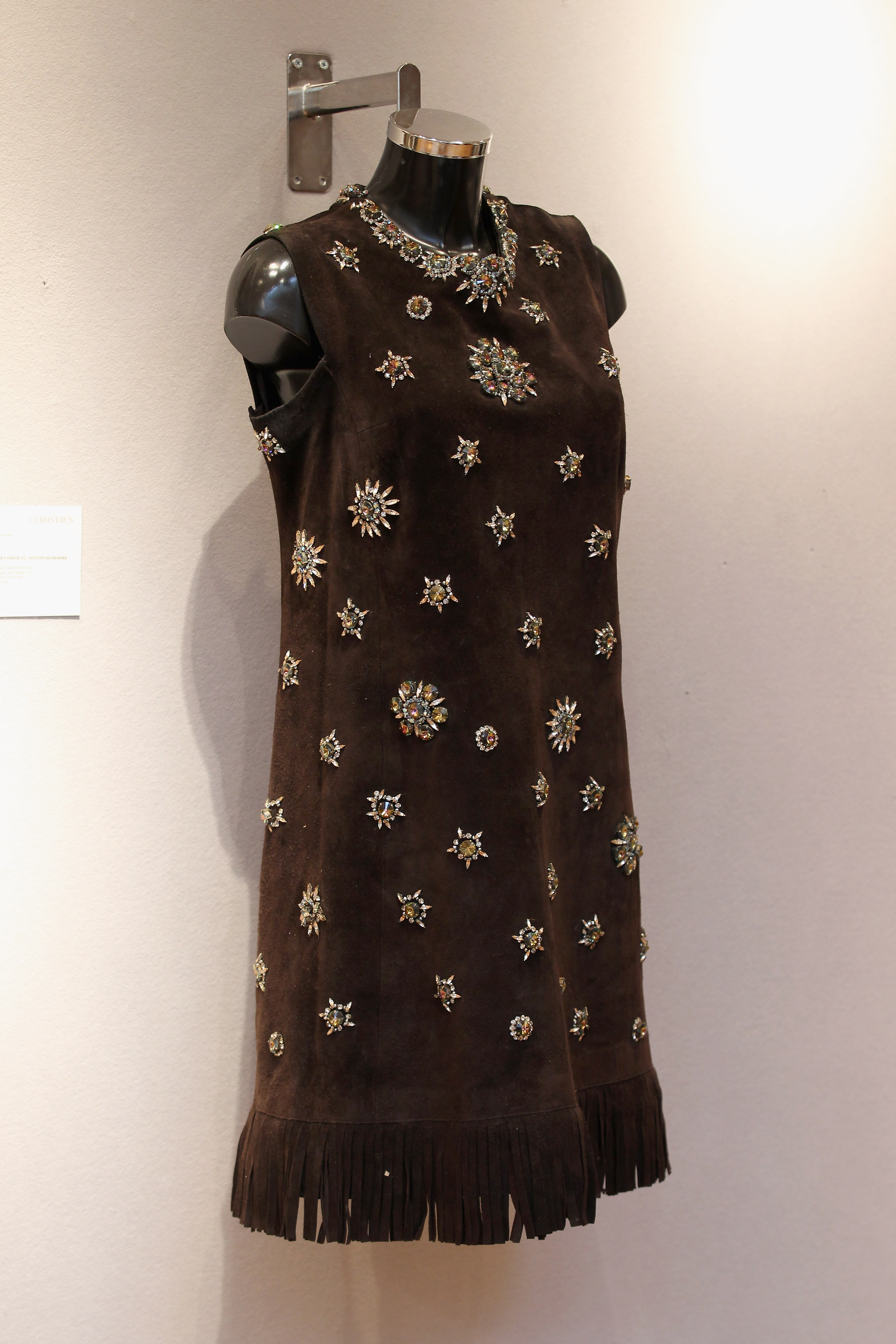 Christie's Displays 20th Century Couture Dresses And Historical Costumes Ahead Of Their Fashion Auction