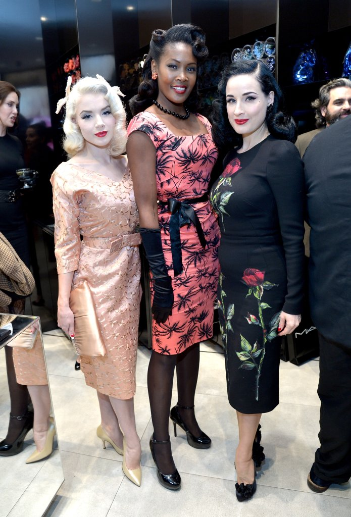 MAC Cosmetics And Dita Von Teese Celebrate The Launch Of The MAC Dita Von Teese Collection
