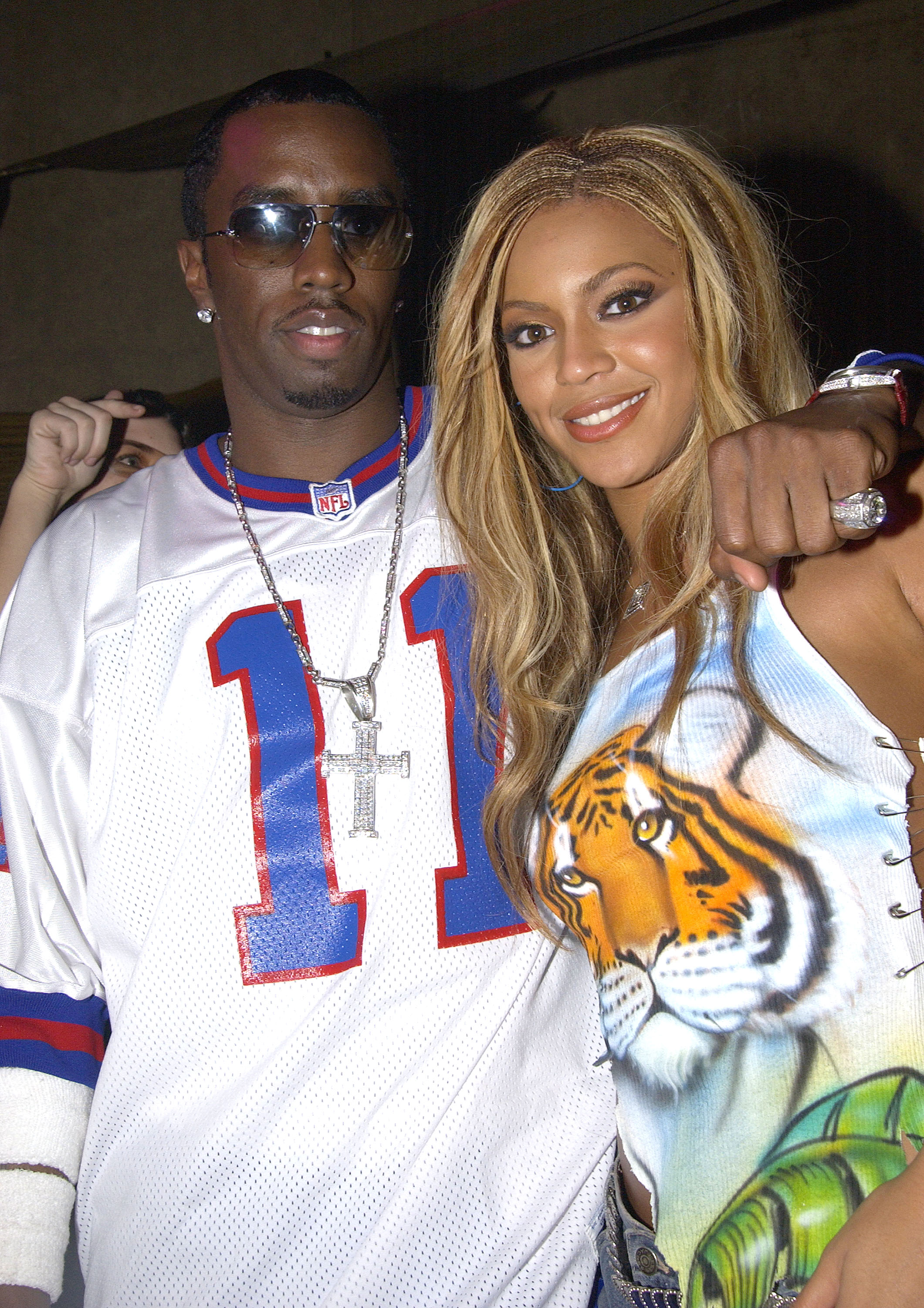 Birthday Party for Beyonce Knowles of Destiny's Child after MTV Video Music Awards