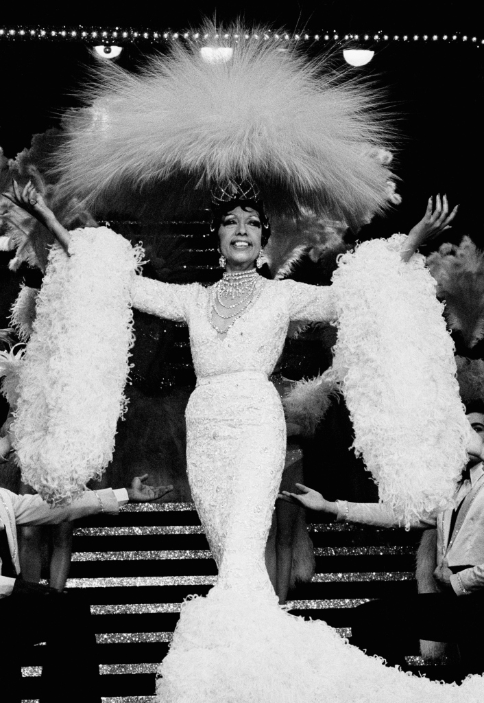 Josephine Baker Performs Final Concert 'Josephine' at Bobino Theater