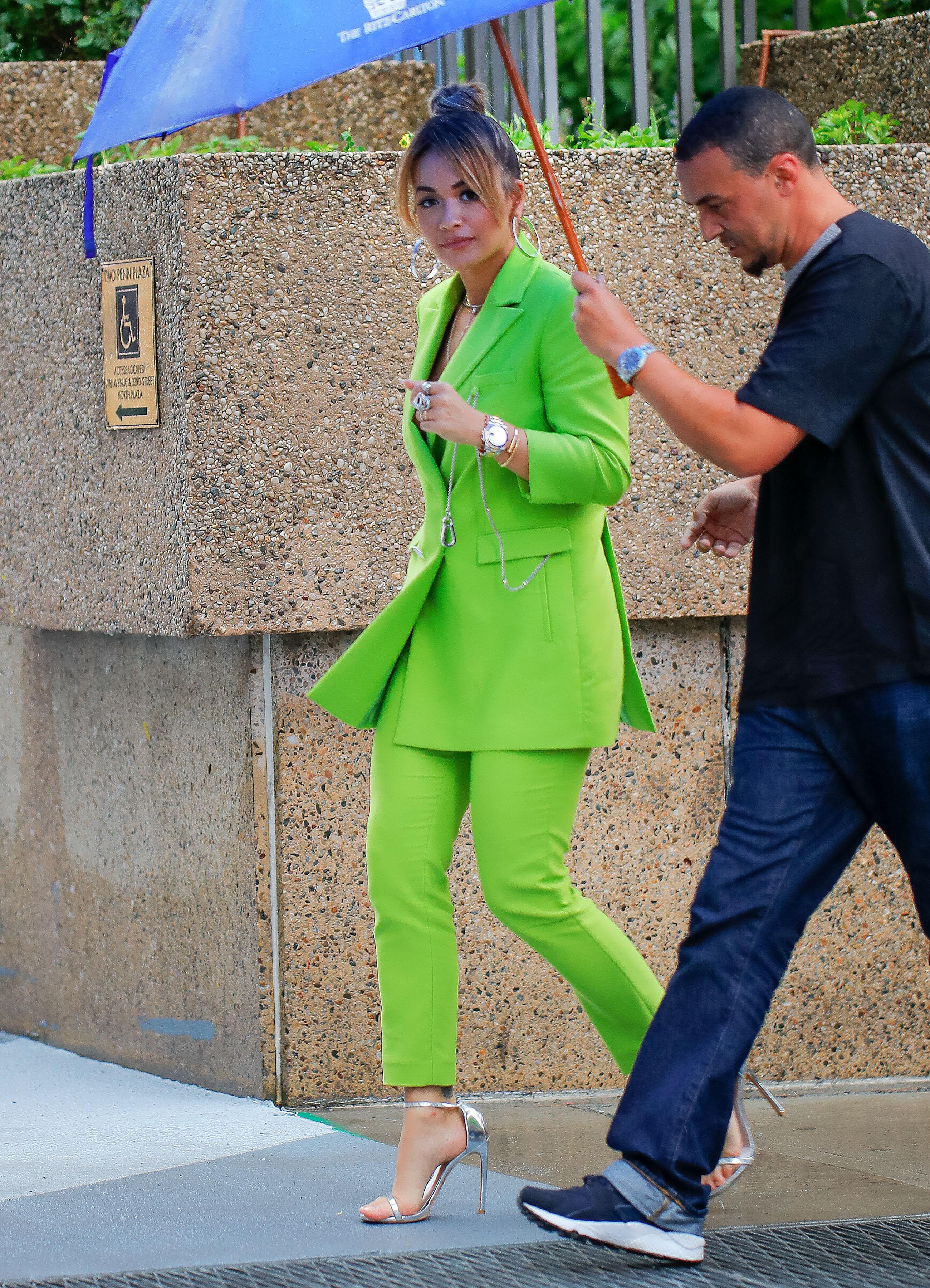Celebrity Sightings in New York City - June 19, 2017