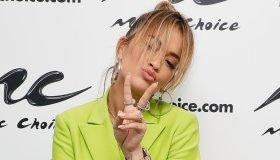 Rita Ora Visits Music Choice