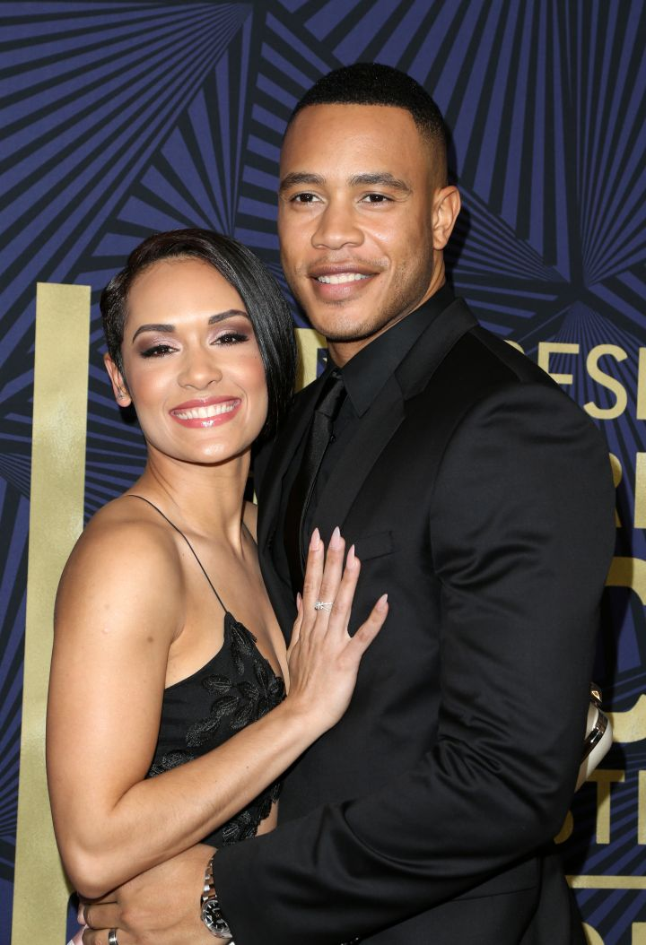 Trai and Grace Byers