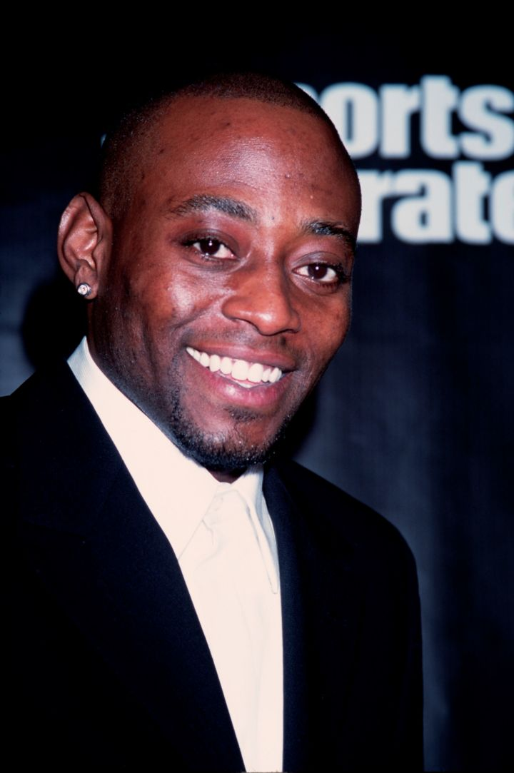 Portrait of Omar Epps at Sportsman of the Year Awards