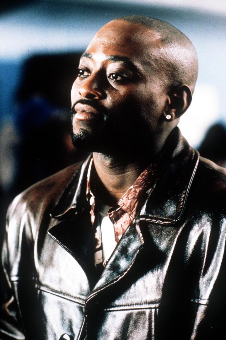 Omar Epps Appears June 23 2000 In A Scene From Michael Rymer's Film In Too Deep (Pho