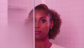 Actress Issa Rae...