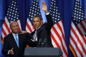 President Barack Obama Fundraising In Boston