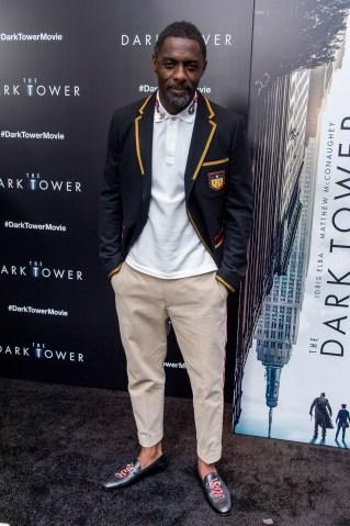 'The Dark Tower' New York Premiere
