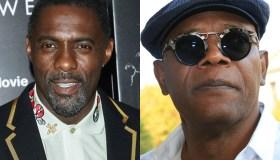 Idris Elba and Samuel Jackson