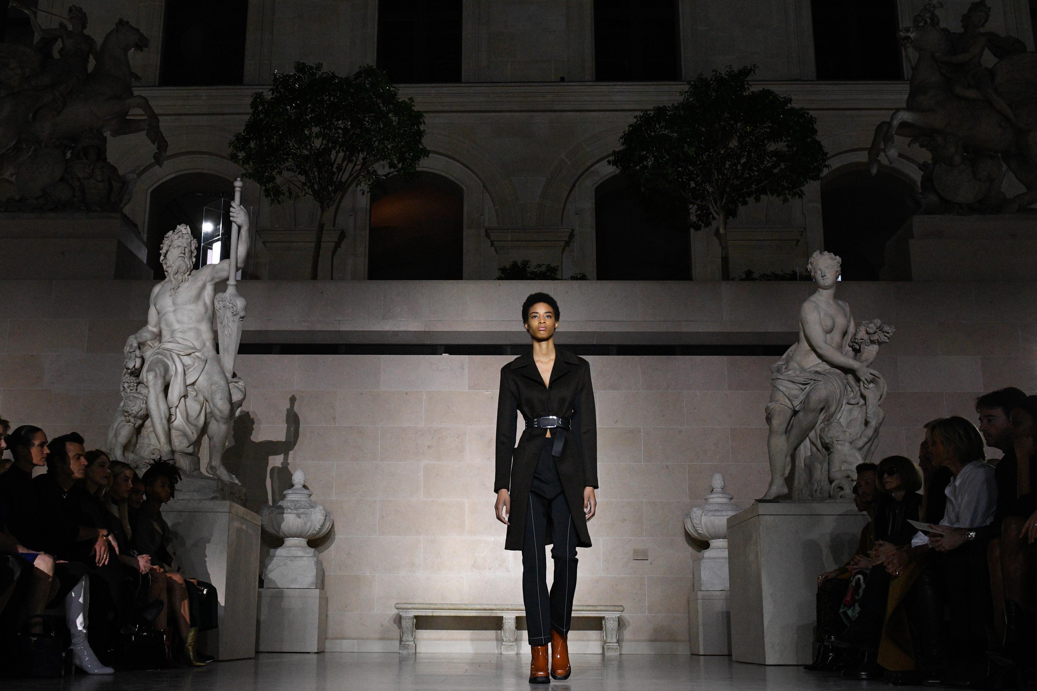 Louis Vuitton : Runway - Paris Fashion Week Womenswear Fall/Winter 2017/2018