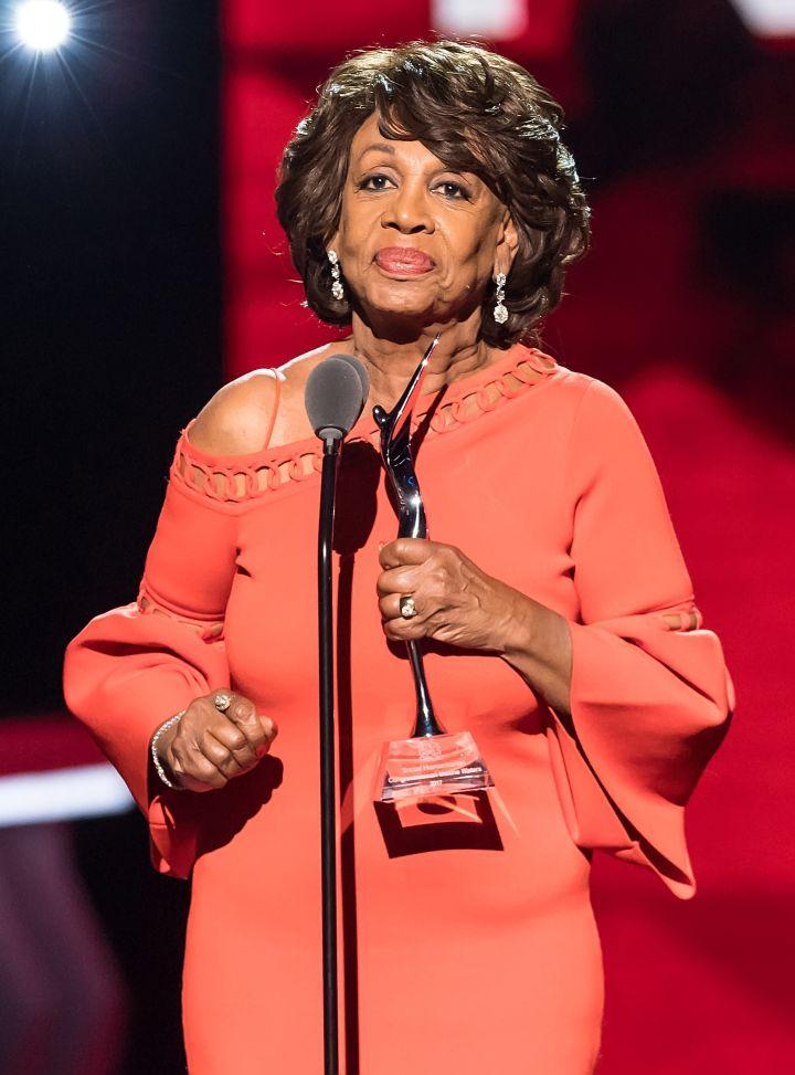 Congresswoman Maxine Waters, California